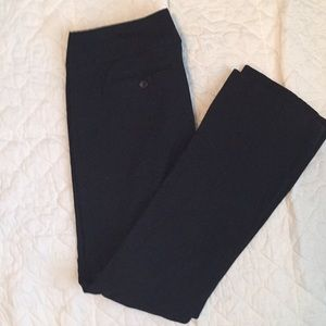 Limited Exact Stretch Black Pants
